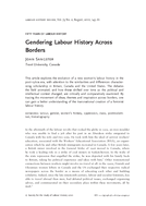 Gendering Labour History Across Borders