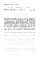 Rebelles Without a Cause? Images of Masonic Women in France
