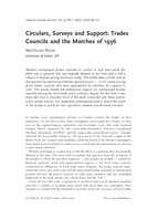 Circulars, Surveys and Support: Trades Councils and the Marches of 1936