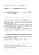 Theses and Dissertations: 2007