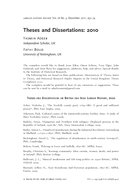 Theses and Dissertations: 2010