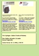 PERE CALDERS: DEL PUDOR I EL CANDOR