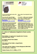 II. LETTERS AND TESTIMONIES