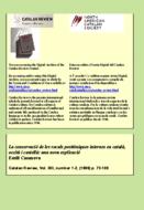 LA CONSERVACIÓ DE LES VOCALS POSTTÒNIQUES INTERNES EN CATALÀ, OCCITÀ I CASTELLÀ: UNA NOVA EXPLICACIÓ