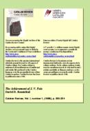 THE ACHIEVEMENT OF J. V. FOIX