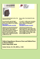 POLITICAL (IM)POLITENESS: DISCOURSE POWER AND POLITICAL POWER IN ELECTORAL DEBATES