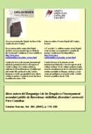 IDEES ENTORN DEL LLENGUATGE I DE LES LLENGÜES A L'ENSENYAMENT SECUNDARI PÚBLIC DE BARCELONA: VISIBILITAT, DIVERSITAT I CORRECCIÓ
