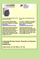 CONSTRUCTING DIVERSITY: TEACHERS' PERSPECTIVES ON CLASSROOMS IN CATALONIA