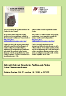 LIBRE DEL ORDE DE CAUAYLERIA: FASHION AND FICTION