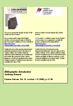 BIBLIOGRAPHIC INTRODUCTION