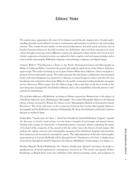 Editors' Note