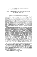 LOCAL ARCHIVES OF GREAT BRITAIN XVI: THE LOCAL AND PRIVATE ARCHIVES OF SCOTLAND (11)