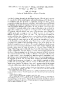 THE APPEAL TO HISTORY IN ANGLO-SCOTTISH RELATIONS BETWEEN 1291 AND 1401: PART 1