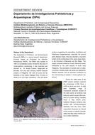 Departamento de Investigaciones Prehistóricas y Arqueológicas (DIPA)