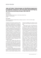Jade und Kupfer. Untersuchungen zum Neolithisierungsprozess im westlichen Ostseeraum unter besonderer Berücksichtigung der Kulturenentwicklung Europas 5500-3500 BC