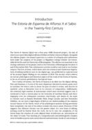 The Estoria de Espanna de Alfonso X el Sabio in the Twenty-first Century