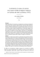 La lactancia, la caza y la cocina: una nueva mirada al espacio materno en Furtivos de José Luis Borau (1975)