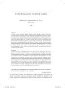 El día de la bestia: recasting Madrid