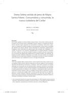 Sirena Selena vestida de pena de Mayra Santos-Febres: Consumidora y consumida, la nueva ciudadana del Caribe