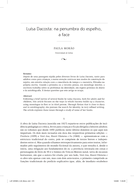 Luísa Dacosta: na penumbra do espelho, a face