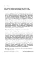 Ned Land et l'utopie compensatoire chez Jules Verne: à propos du Canadien de Vingt Mille Lieues sous les mers