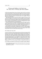 """Women and Children in the Front Line: The """"Jerry Girls"""" of Norway and Their Children"""
