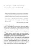 Los archivos en el mundo iberoamericano