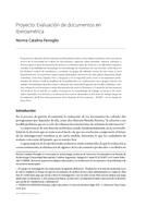 Proyecto: Evaluación de documentos en Iberoamérica