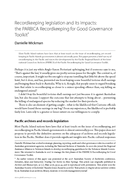 Recordkeeping legislation and its impacts: the PARBICA Recordkeeping for Good Governance Toolkit
