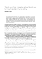 The role of archives in creating national identity and harmony in post-communist society