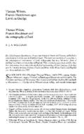 Thomas Wilson, Francis Hutchinson agus Litriù na Gaeilge