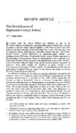 The Gentrification of Eighteenth-Century Ireland