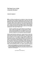 The Penal Laws in Irish vernacular literature