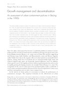Growth management and decentralisation: An assessment of urban containment policies in Beijing in the 1990s