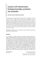 Towards an EAP without borders: Developing knowledge, practitioners, and communities