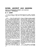 SKIMS, ANCIENT AND MODERN