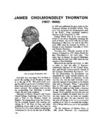 JAMES CHOLMONDELEY THORNTON (1907-1969)