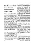 INDEX TRAPS AND PITFALLS
