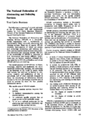 The National Federation of Abstracting and Indexing Services