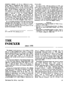 THE INDEXER