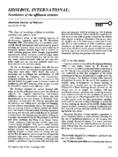 SHOEBOX, INTERNATIONAL: Newsletters of the affiliated societies