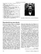 Standardizing standards