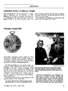 Australian Society of Indexers' Medal