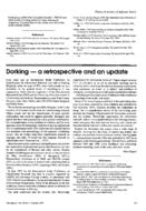 Dorking - a retrospective and an update