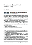 News from the German Network of Indexers (DNI)
