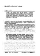 Libris Canadiana: a review