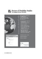 Review of Disability Studies
