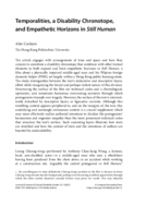 Temporalities, a Disability Chronotope, and Empathetic Horizons in Still Human