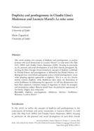 Duplicity and posthegemony in Claudia Llosa's Madeinusa and Lucrecia Martel's La niña santa
