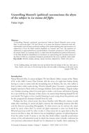 Unravelling Moretti's (political) unconscious: the abyss of the subject in La stanza del figlio